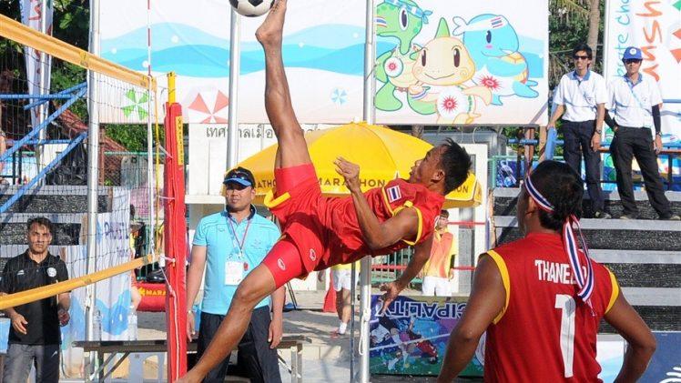 เมื่อกีฬาฟุตวอลเลย์ เจอกับลีลาบาทาเหินหาวของนักกีฬาไทย